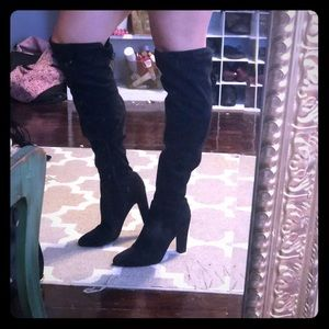 Like new thigh high boots!